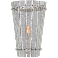 Visual Comfort S2652PN-AM Carrier and Company Cadence 1 Light 8 inch Polished Nickel Sconce Wall Light Small