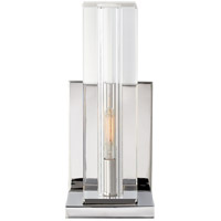 Visual Comfort S2944CG/PN Ian K. Fowler Ambar 1 Light 5 inch Polished Nickel Wall Sconce Wall Light, Tall