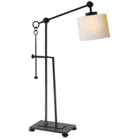 Visual Comfort S3030BR-NP Ian K. Fowler Aspen 24 inch 60 watt Hand Painted Blackened Rust Task Table Lamp Portable Light