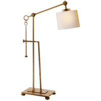 Ian K. Fowler Aspen 24 inch 40 watt Gilded Iron with Wax Task Table Lamp Portable Light