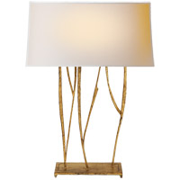 Visual Comfort S3051GI-NP Ian K. Fowler Aspen 23 inch 60 watt Gilded Iron Decorative Table Lamp Portable Light