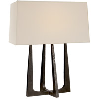 Visual Comfort S3514AI-PL Ian K. Fowler Scala 18 inch 40 watt Aged Iron Bedside Lamp Portable Light