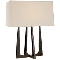 Visual Comfort S3514AI-PL Ian K. Fowler Scala 18 inch 40 watt Aged Iron Bedside Lamp Portable Light
