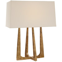 Visual Comfort S3514GI-PL Ian K. Fowler Scala 18 inch 40 watt Gilded Iron Table Lamp Portable Light