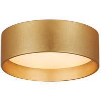 Visual Comfort S4040G Studio VC Shaw LED 5 inch Gild Solitaire Flush Mount Ceiling Light