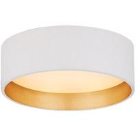 Visual Comfort S4040WHT Studio VC Shaw LED 5 inch Matte White Solitaire Flush Mount Ceiling Light