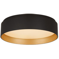 Visual Comfort S4041BLK Studio VC Shaw LED 11 inch Matte Black Flush Mount Ceiling Light Small
