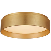 Visual Comfort S4041G Studio VC Shaw LED 11 inch Gild Flush Mount Ceiling Light Small