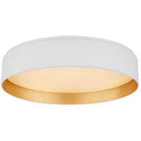 Visual Comfort S4043WHT Studio VC Shaw LED 17 inch Matte White Flush Mount Ceiling Light Large