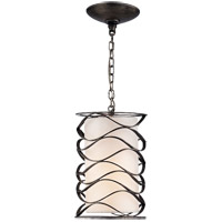 Visual Comfort S5045AI-L Barry Goralnick Bracelet 1 Light 8 inch Aged Iron Pendant Ceiling Light