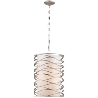 Visual Comfort S5046BSL-L Barry Goralnick Bracelet 1 Light 16 inch Burnished Silver Leaf Pendant Ceiling Light photo thumbnail