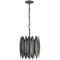 Barry Goralnick Hatton 4 Light 15 inch Aged Iron Pendant Ceiling Light, Barry Goralnick, Small