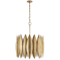 Barry Goralnick Hatton 4 Light 31 inch Gild Pendant Ceiling Light, Barry Goralnick, Large