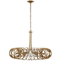 Barry Goralnick Bracelet 6 Light 35 inch Gild Pendant Ceiling Light, Barry Goralnick, Large, Chandelier