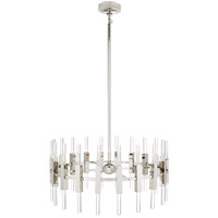 Visual Comfort S5143PN-CA Ian K. Fowler Palomar LED 34 inch Polished Nickel Rotating Chandelier Ceiling Light, Small photo thumbnail