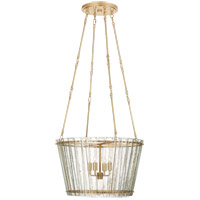 Visual Comfort S5653HAB-AM Carrier and Company Cadence 4 Light 24 inch Hand-Rubbed Antique Brass Chandelier Ceiling Light Medium