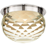 Studio Hillam 1 Light 6 inch Polished Nickel Flush Mount Ceiling Light