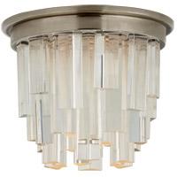 Visual Comfort S7010AN-CA Studio Vc Breck LED 5 inch Antique Nickel Flush Mount Ceiling Light Petite