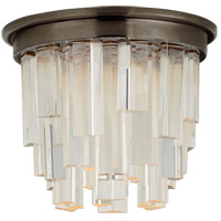 Visual Comfort S7010BZ-CA Studio Vc Breck LED 5 inch Bronze Flush Mount Ceiling Light, Petite