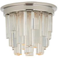 Visual Comfort S7010PN-CA Studio Vc Breck LED 5 inch Polished Nickel Flush Mount Ceiling Light, Petite