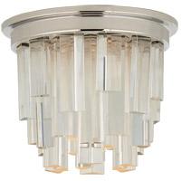 Visual Comfort S7010PN-CA Studio Vc Breck LED 5 inch Polished Nickel Flush Mount Ceiling Light Petite