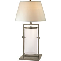 Visual Comfort Studio You Fill It 1 Light Decorative Table Lamp in Antique Nickel SC3012AN-S