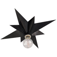 Visual Comfort Studio Star 1 Light Flush Mount in Bronze with Wax SC4000BZ
