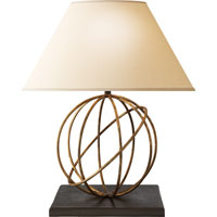 Visual Comfort Studio Orbe 1 Light Decorative Table Lamp in Gilded Iron with Wax SE3005GI-L