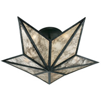 Studio Constellation 3 Light 20 inch Bronze Flush Mount Ceiling Light