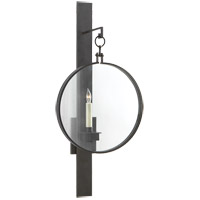 Visual Comfort Suzanne Kasler Alice 1 Light Decorative Wall Light in Aged Iron with Wax SK2002AI