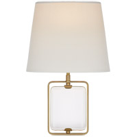 Suzanne Kasler Henri 1 Light 10 inch Hand-Rubbed Antique Brass Framed Jewel Sconce Wall Light