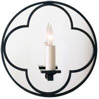 Visual Comfort SK2050BZ Suzanne Kasler Quatrefoil 1 Light 10 inch Bronze Decorative Wall Light