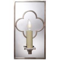 Visual Comfort SK2052AN Suzanne Kasler Quatrefoil 1 Light 6 inch Antique Nickel Decorative Wall Light