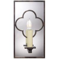 Visual Comfort SK2052BZ Suzanne Kasler Quatrefoil 1 Light 6 inch Bronze Decorative Wall Light