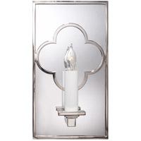 Visual Comfort SK2052PN Suzanne Kasler Quatrefoil 1 Light 6 inch Polished Nickel Decorative Wall Light