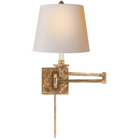Suzanne Kasler Griffith 24 inch 100 watt Gilded Iron Swing-Arm Wall Light