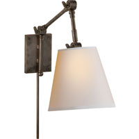 Suzanne Kasler Graves 1 Light 8 inch Bronze Task Wall Light