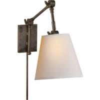 Visual Comfort SK2115BZ-NP Suzanne Kasler Graves 20 inch 60 watt Bronze Task Wall Light