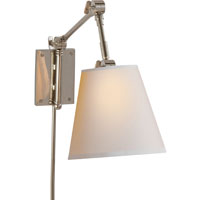 Visual Comfort Suzanne Kasler Graves 1 Light Task Wall Light in Polished Nickel SK2115PN-NP