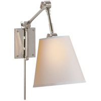 Visual Comfort SK2115PN-NP Suzanne Kasler Graves 22 inch 60 watt Polished Nickel Task Wall Light