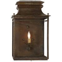 Visual Comfort SK2301AZ Suzanne Kasler Flea Market 1 Light 18 inch Antique Zinc Wall Lantern