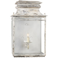 Suzanne Kasler Flea Market 1 Light 12 inch Old White Wall Lantern Wall Light