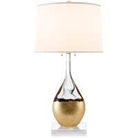 Suzanne Kasler Sculptural 30 inch 60 watt Crystal Table Lamp Portable Light