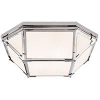 Visual Comfort SK4008PN-WG Suzanne Kasler Morris LED 16 inch Polished Nickel Flush Mount Ceiling Light
