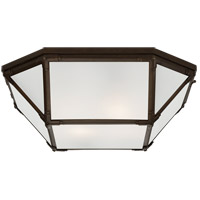 Suzanne Kasler Morris 4 Light 20 inch Antique Zinc Flush Mount Ceiling Light, Large