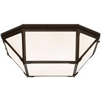 Visual Comfort SK4009AZ-WG Suzanne Kasler Morris LED 20 inch Antique Zinc Flush Mount Ceiling Light Large