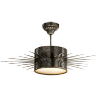 Visual Comfort Suzanne Kasler Soleil 2 Light Flush Mount in Bronze with Wax SK5202BZ