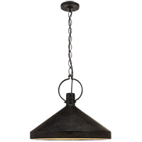 Visual Comfort Suzanne Kasler Limoges 1 Light 24 inch Natural Rust Pendant Ceiling Light, Grande SK5364NR-AI - Open Box