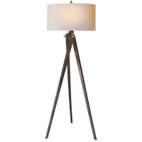 Visual Comfort SL1700TB-NP E. F. Chapman Tripod 61 inch 150 watt Tudor Brown Stain Decorative Floor Lamp Portable Light