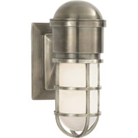 Visual Comfort E.F. Chapman Marine 1 Light Bath Wall Light in Antique Nickel SL2000AN-WG